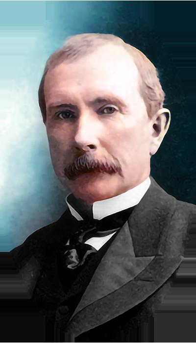 John D. Rockefeller (1885)